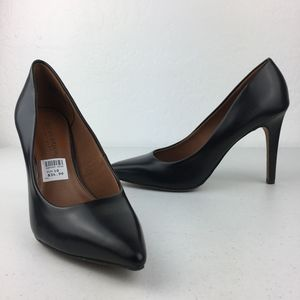 Black Pointed Toe Classic Pumps
